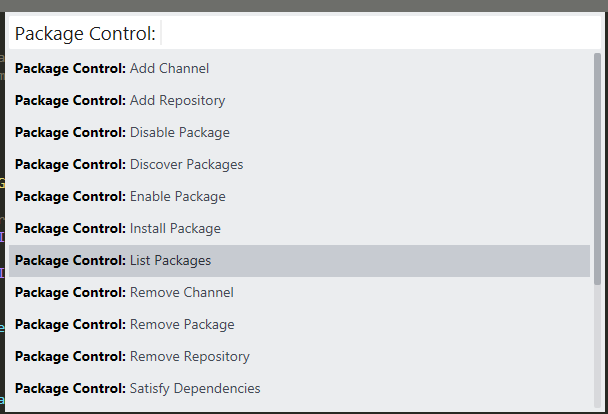package control sublime text