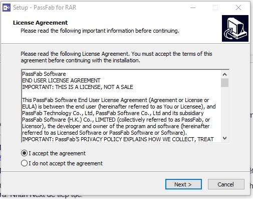 Phá pass winrar bằng phần mềm