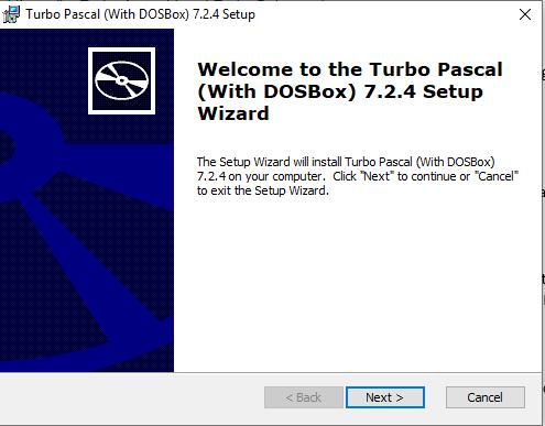 Cài đặt turbo pascal-1
