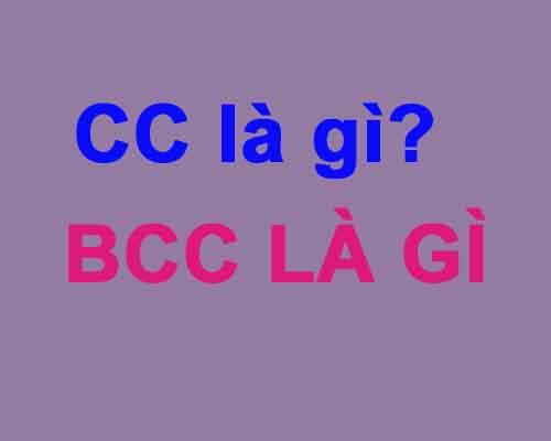 CC là gì