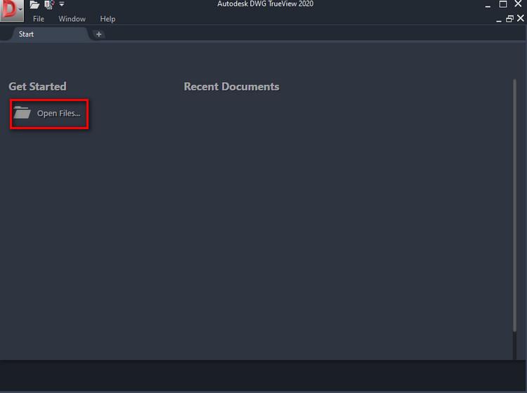 Cách mở file DWG bằng ứng dụng DWG Trueview