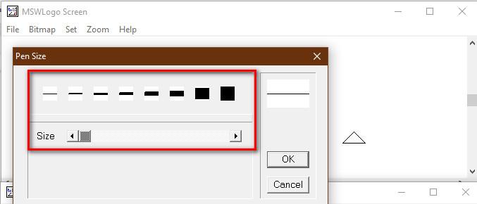 Cách điều chỉnh kích thước nét vẽ trong logo