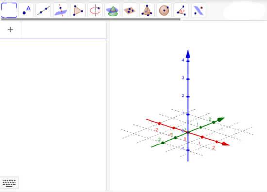 GeoGebra - Vẽ đồ thị online trên trình duyệt web