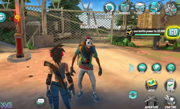 Game Dead Rivals Zombie MMO