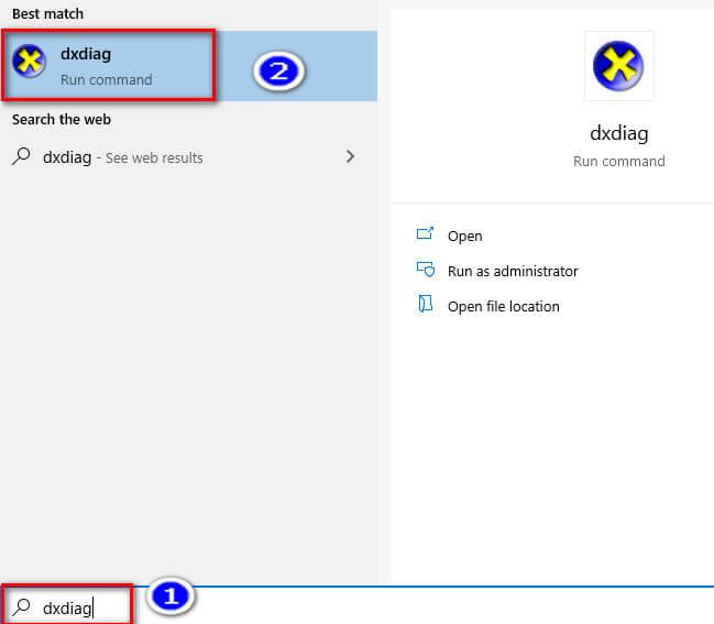 kiểm tra phiên bản DirectX trên windows