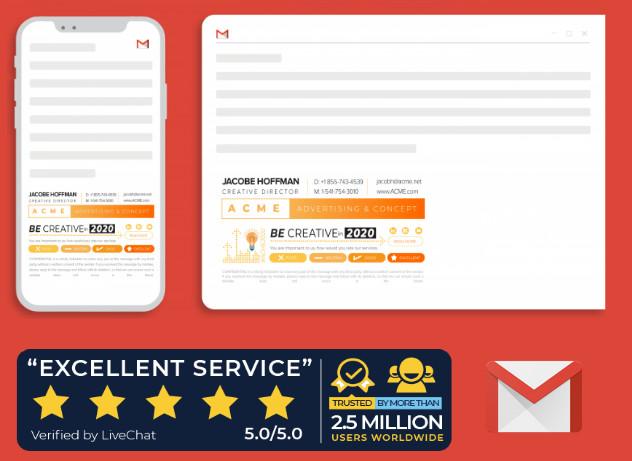 Công cụ tạo chữ ký email cho doanh nghiệp Xink